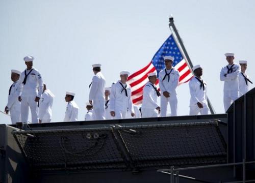美国海军士兵(资料图)