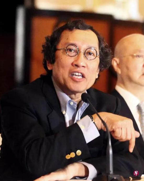 ▲新加坡巡回大使比拉哈里(图片来源:联合早报)