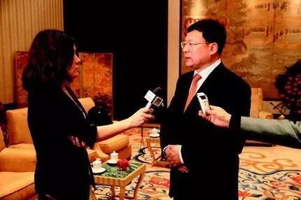 赵红专因三星项目接受媒体采访