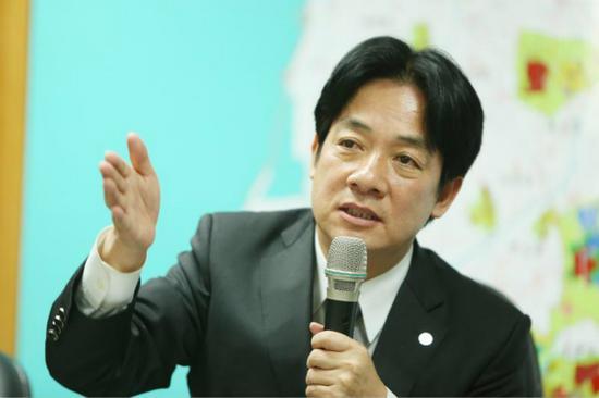 台南市长赖清德(图片来源:台媒资料图)