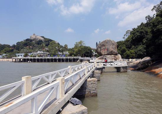 菽庄花园的四十四桥,鼓浪屿