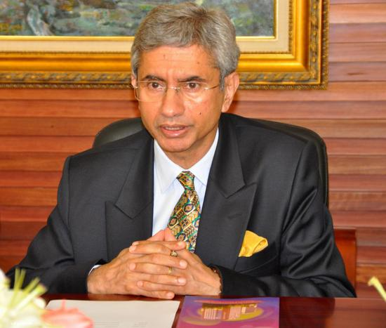 印度外交国务秘书苏杰生