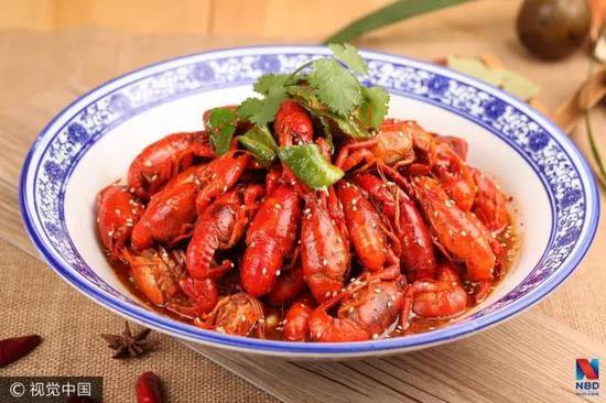 ▲小龙虾(图片来源:视觉中国)