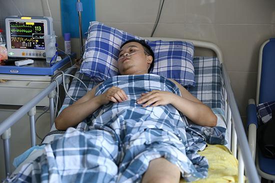 徐前凯目前在荣昌区人民医院继续接受治疗。