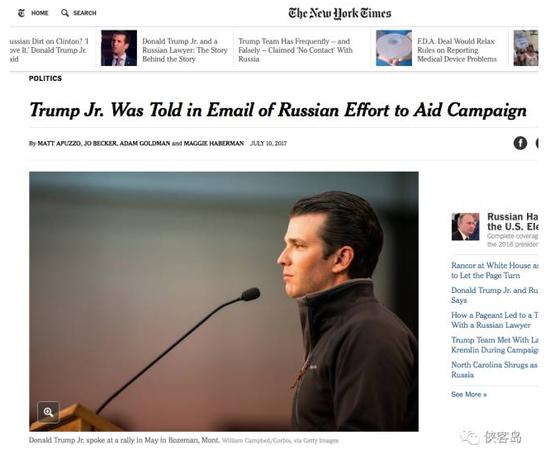 纽约时报早先的报道