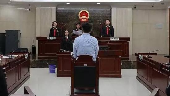 今年4月,广东省高级人民法院对郭利敲诈勒索案再审改判无罪。图片来自网络