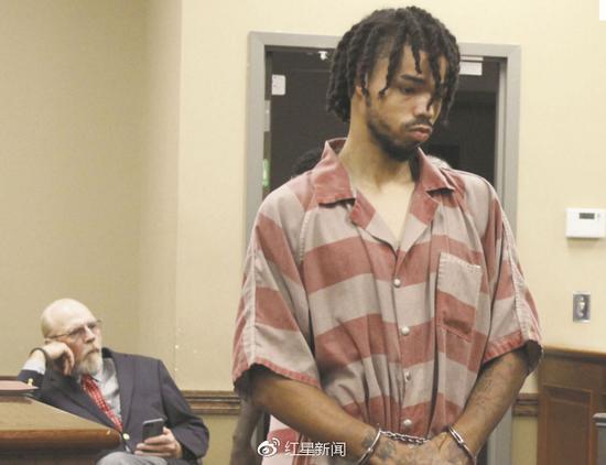 嫌犯出庭图片,图据当地媒体The Meridian Star