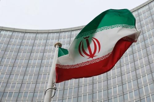 资料图:伊朗国旗