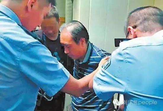 2016年8月,犯罪嫌疑人高承勇被警方控制。