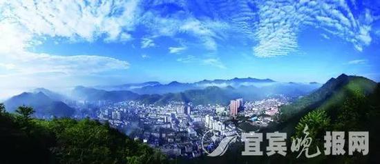 △ 兴文县城