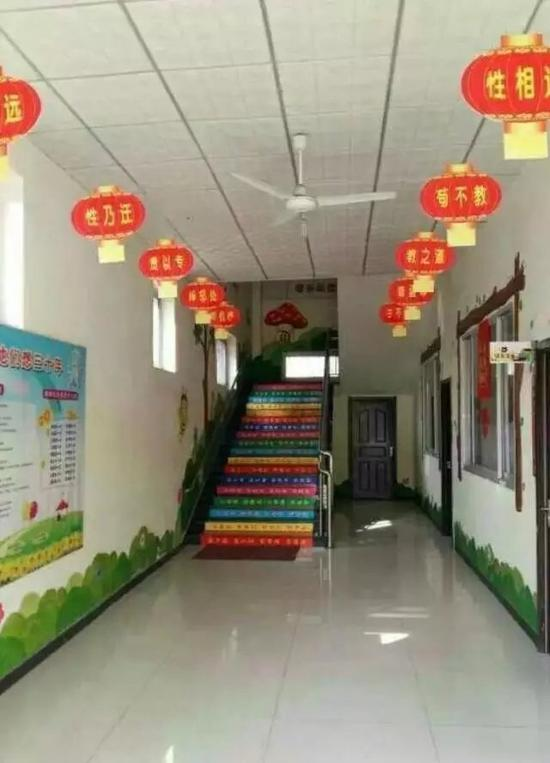 亲爽养正幼儿园。受访者供图