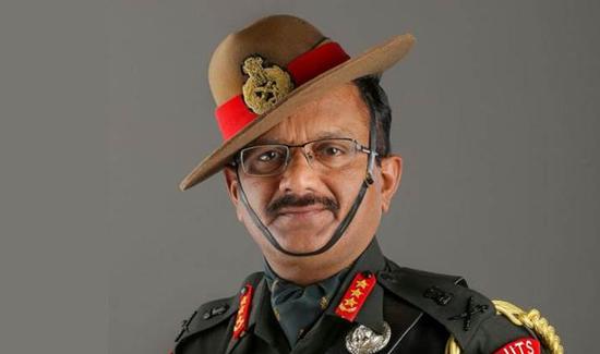 图:印度陆军副总参谋长萨拉斯·钱德