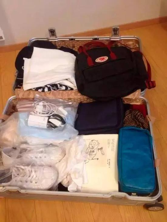 ▲危秋洁的行李仍完好的放在旅馆房间中(危秋洁好友 提供)