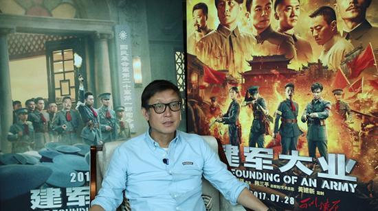 刘伟强在接收磅礴消息专访时回应此事。