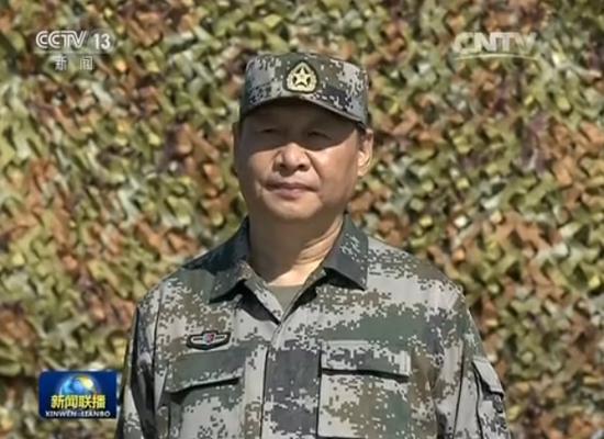建军90周年阅兵举行 习近平检阅部队并发表讲话