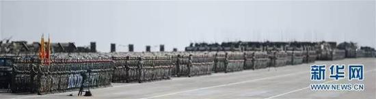 """▲中国军队专治""""强迫症""""。"""