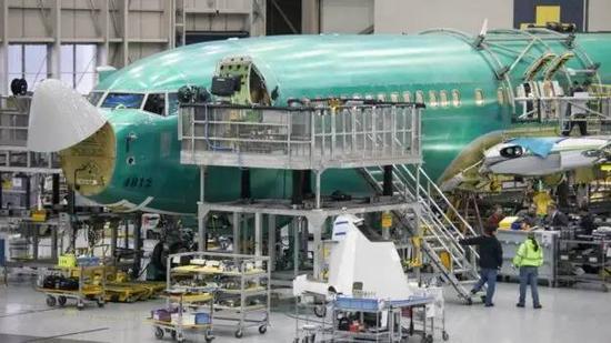 资料图片:波音成为继欧洲空中客车之后第二家在中国设厂的外国飞机制造商。(路透社)