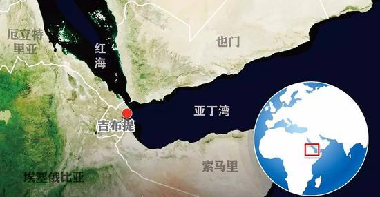 吉布提位于红海入口的战略要塞,除美国和法国外,日本在此设立了航空自卫队基地。