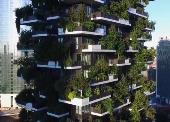 森林大厦:让城市绿起来 活起来