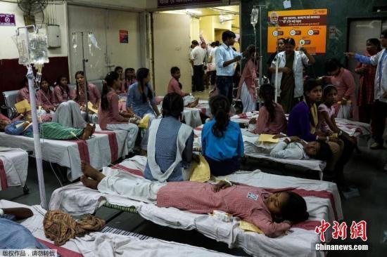 印度医院。中新网 资料图