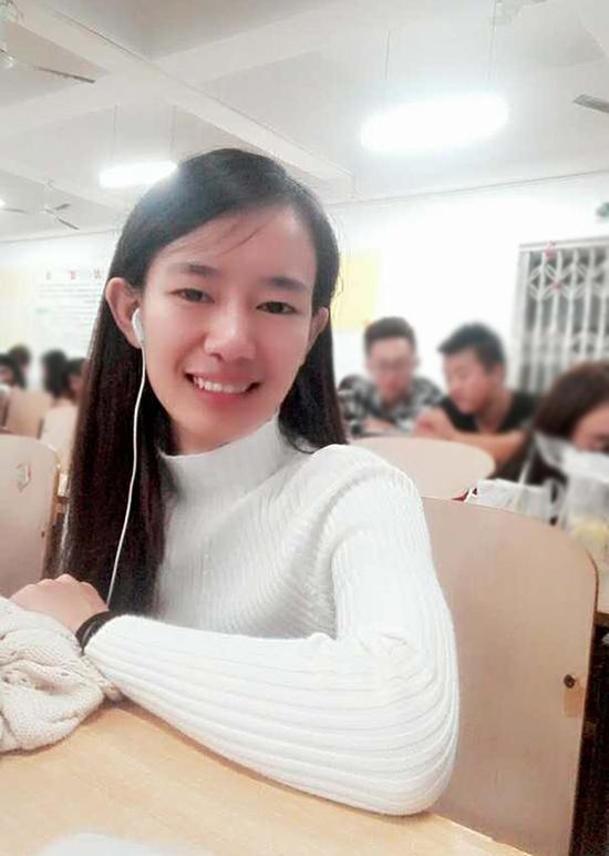 贫困女大学生林华蓉生前照片。 本文图片均为死者家属提供