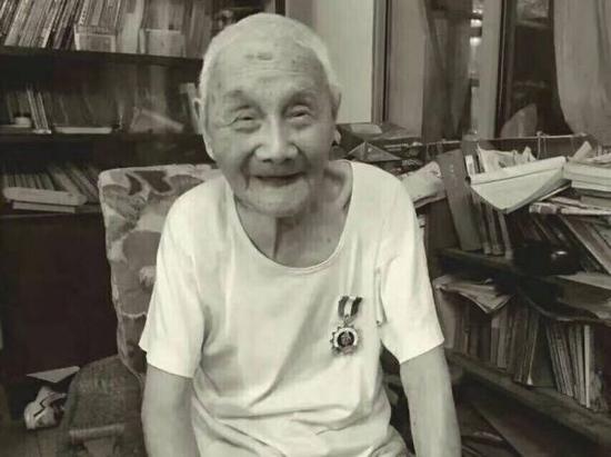 陶基烈老人照片。本文图片均来自苏州新闻网