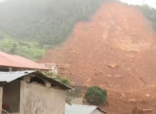 塞拉利昂泥石流灾害 499人遇难数千人无家可归