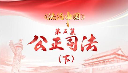 4分钟速览《法治中国》第五集《公正司法》下