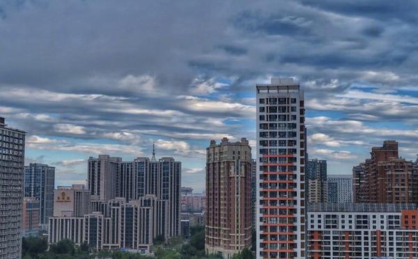 雨后北京现美丽云彩 简直美得不像话