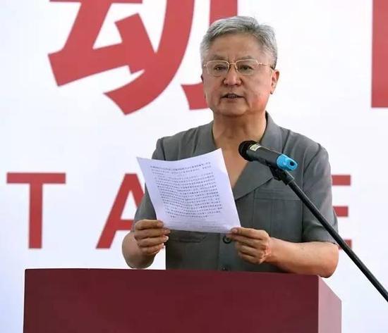 中国摄影著作权协会代表宋明昌讲话 邢光明摄影
