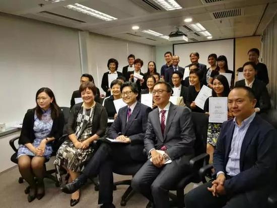 首届香港和内地联合举办的律师调解培训班结业典礼首届香港和内地联合举办的律师调解培训班结业典礼