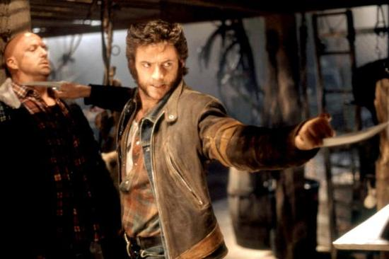 由休·杰克曼饰演的金刚狼。
