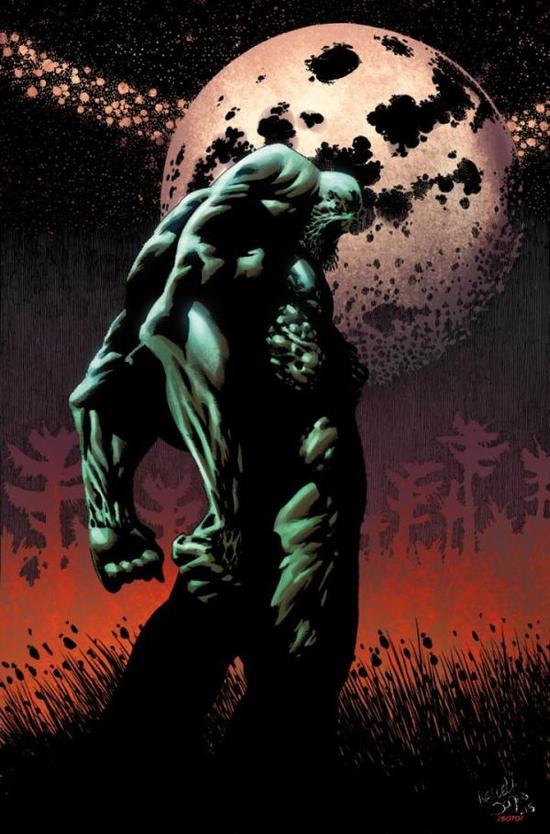在韦恩离世前,他正在着手重启沼泽怪物的故事。