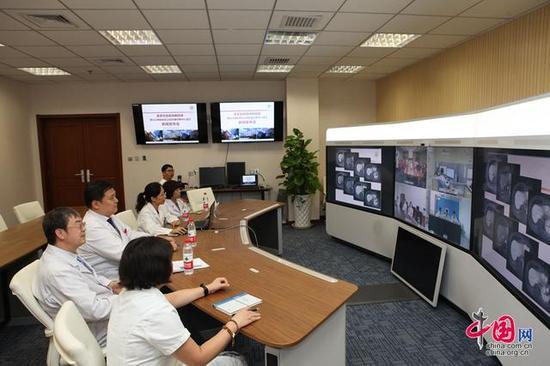 首都医科大学附属北京朝阳医院成立北京朝阳医院远程影像诊断中心。