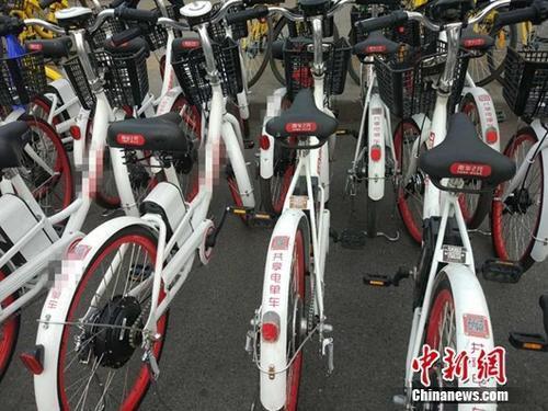 """快检查你的""""座驾""""!官方称共享电动自行车普遍超标。"""