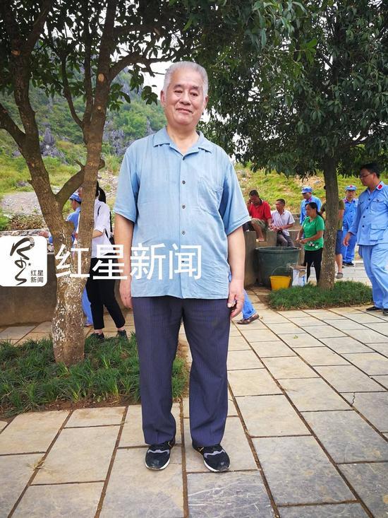 ▲新四军副顾问长周子昆之子周林 图片泉源:红星新闻