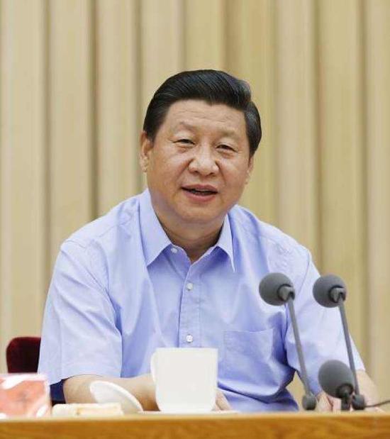 2013年8月19日,中共中央总书记、国家主席、中央军委主席习近平在天下宣传头脑事情集会上揭晓主要讲话。新华社记者 鞠鹏 摄