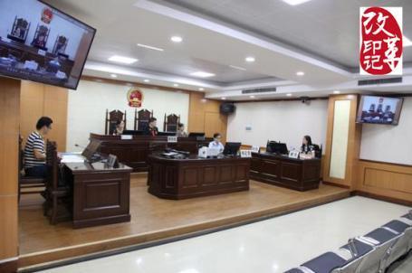 广西贵港市港北区人民法院的数字高清科技法庭正式投入使用,并开庭审理一起民事借贷纠纷案。