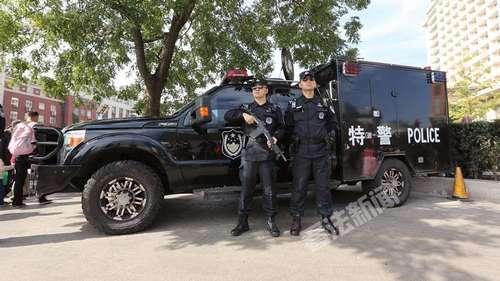 东城分局特警机动大队十一期间全员在岗在位