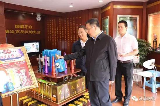 李保芳书记访问北京宏拓宏达商贸无限公司。