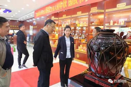 李保芳书记走访北京德华永胜商贸有限公司。