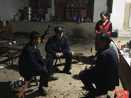 本文图片均由鹤庆警方 提供