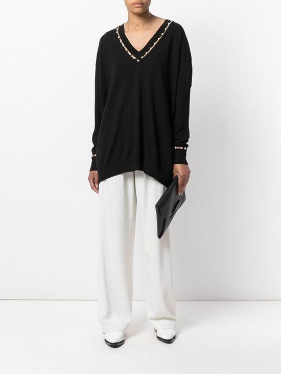 Givenchy珍珠上衣 from Farfetch
