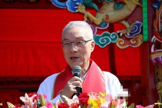 国民党主席吴敦义。(图片来源:香港中评社)