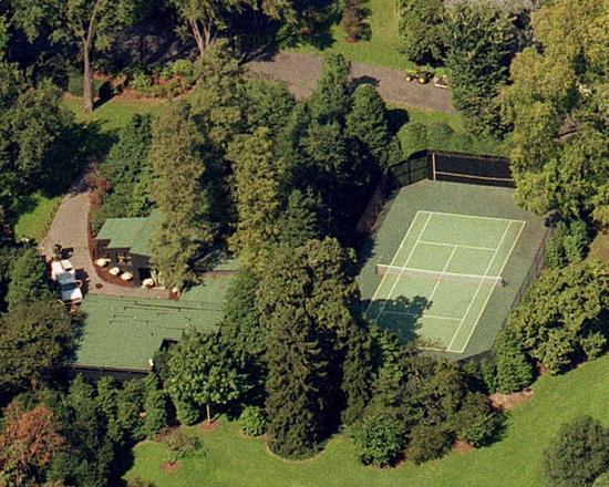 老布什的网球场