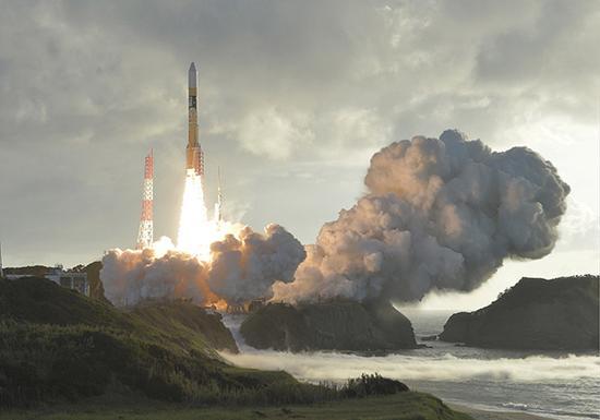 日本的H2A火箭。视觉中国 资料