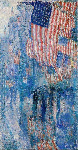 奥巴马选择的艺术作品,《The Flag》