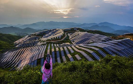 福建松溪县信义光伏电站。视觉中国 资料