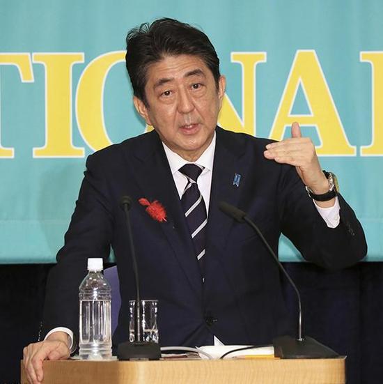 当地时间2017年10月8日,日本东京,日本各党党首举行众议院选举前辩论。 东方IC 图