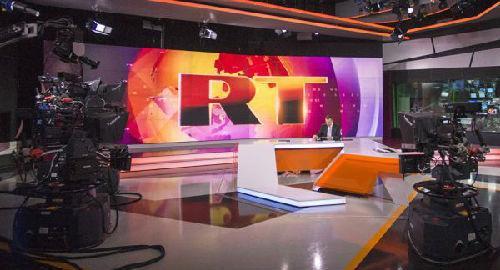 俄罗斯RT电视台 资料图